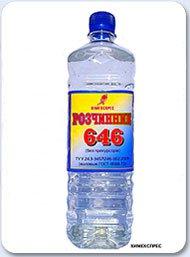Растворитель 646 цена за литр