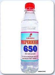 Растворитель 650 0,4 л